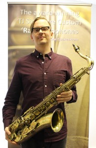 Chris Bullock of Snarky Puppy Trevor James Sax