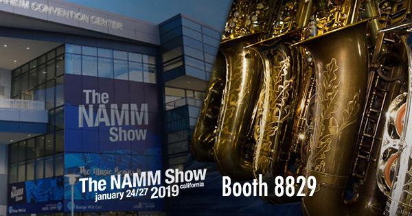 NAMM 2019 Trevor James Saxophones